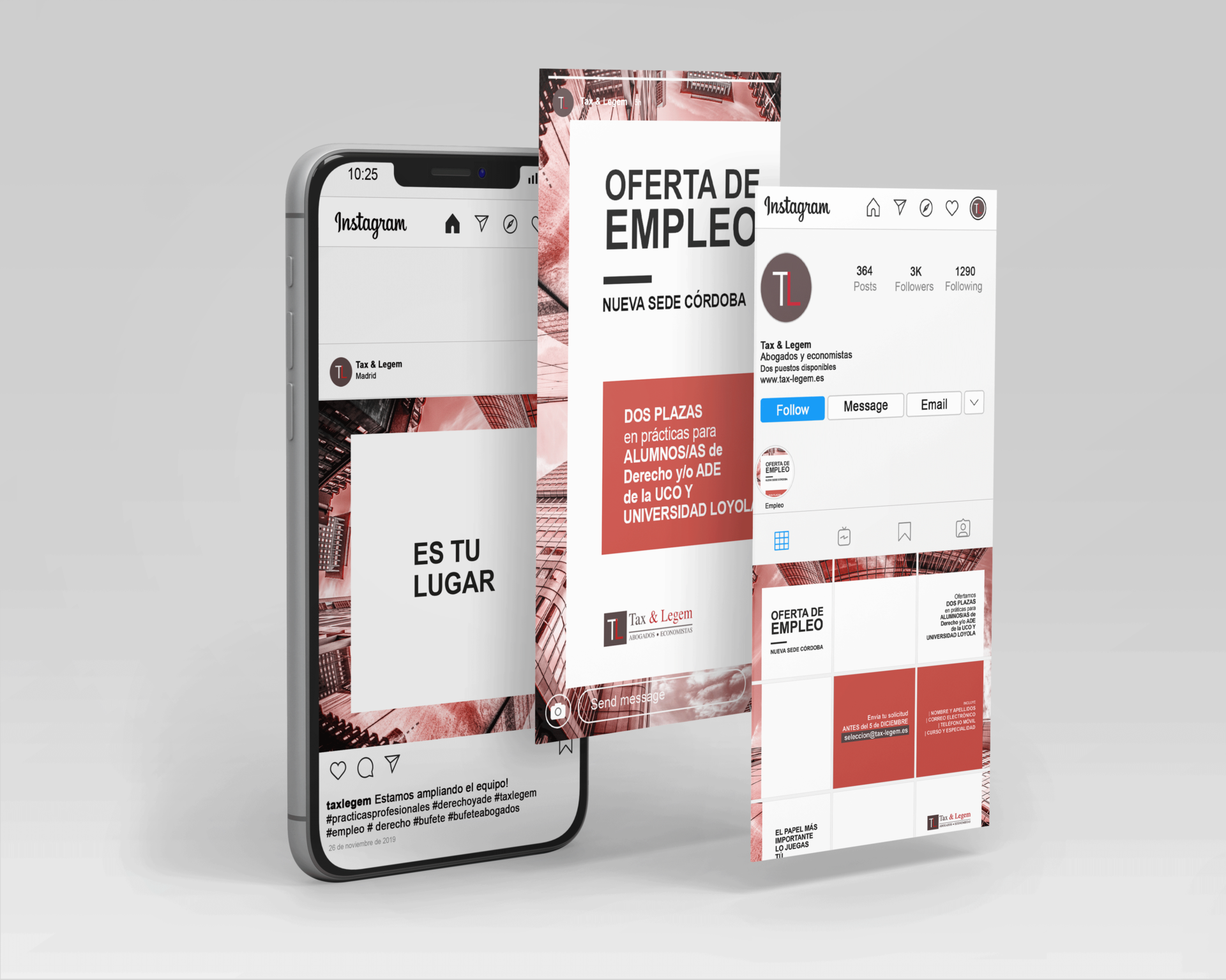 Cruz Roja - Tax & Legem - Social Media