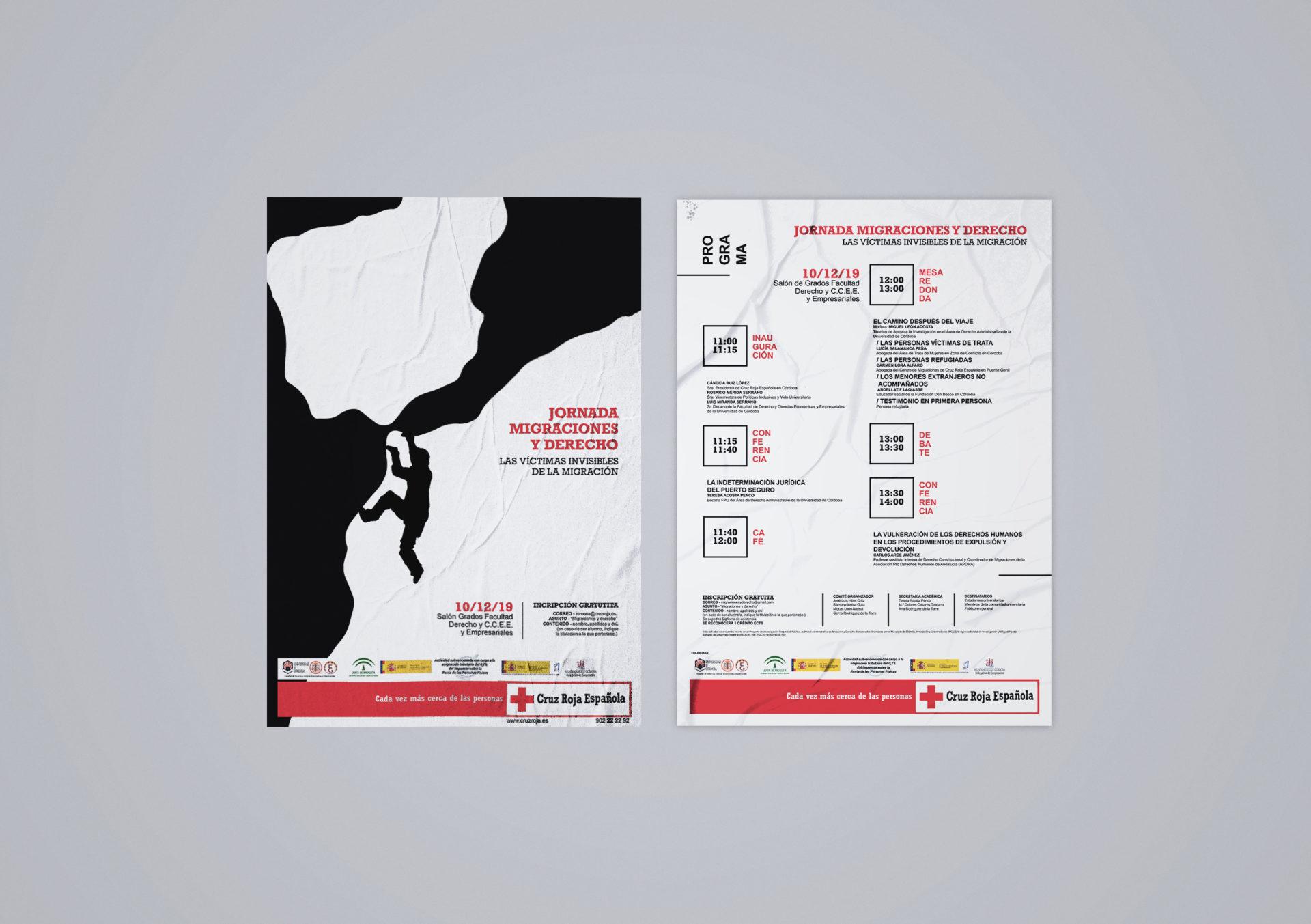 Cruz Roja - Cartel y programa